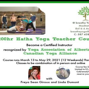 200 Hr Yoga Teacher Training Course