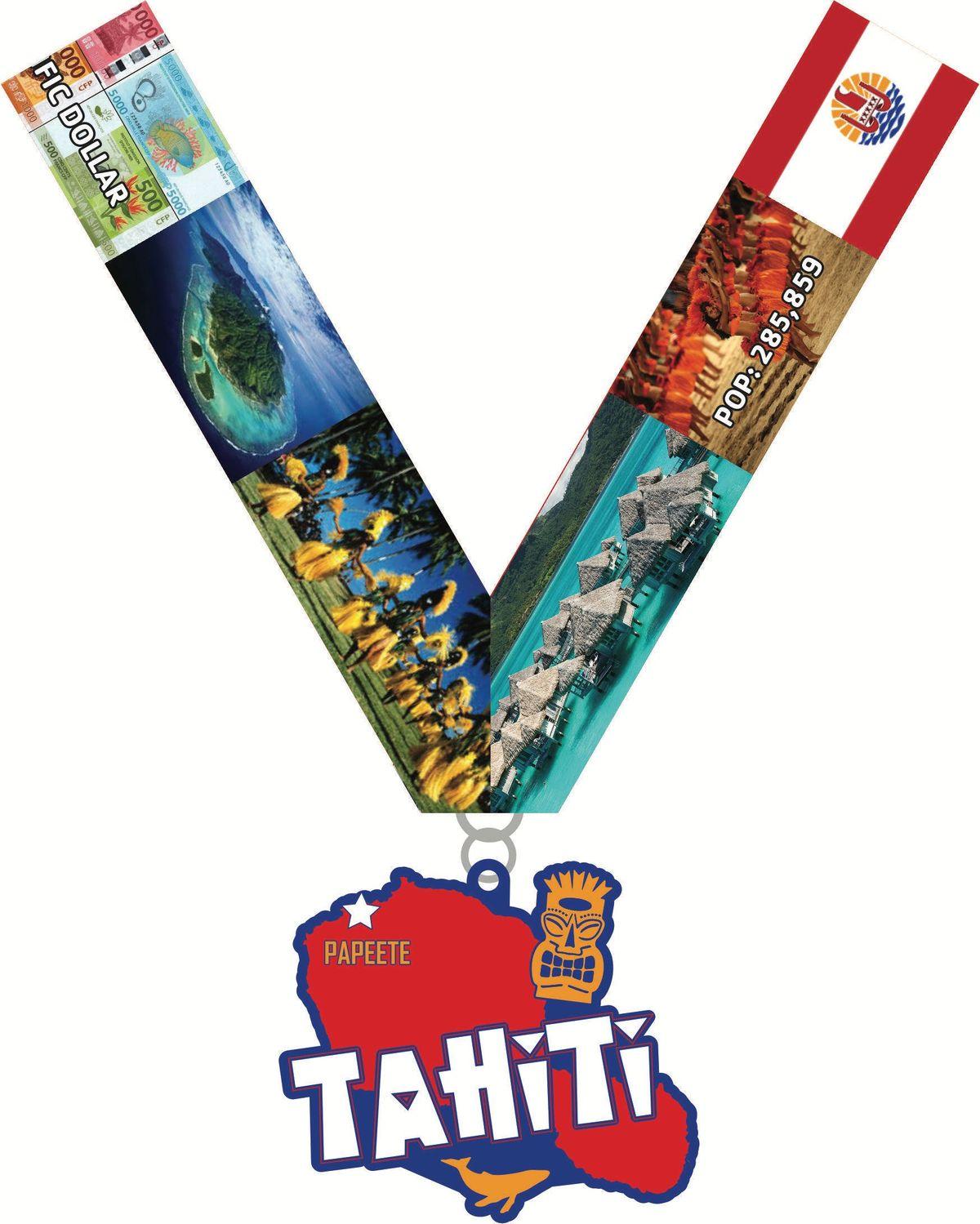 2019 Race Across Tahiti 5K 10K 13.1 26.2 -Pittsburgh