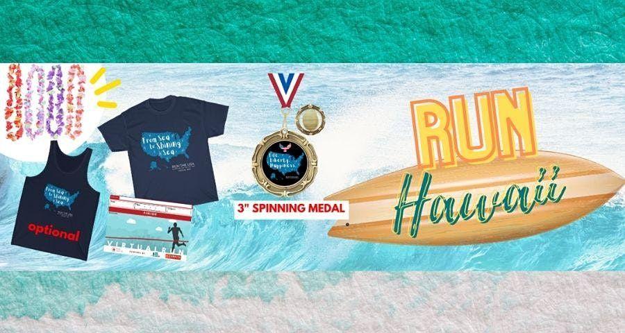 Run Hawaii Virtual Marathon 2021, 12 August   Online Event   AllEvents.in