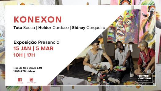 KONEXON - Exposição de pintura | Event in Lisbon | AllEvents.in