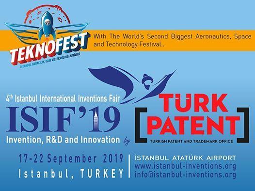 Meunarodni sajam inovacija ISIF 2019. Istambul Turska