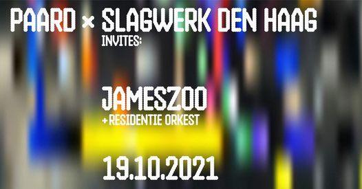 Slagwerk Den Haag x Jameszoo x Residentie Orkest // PAARD, Den Haag, 19 October | Event in The Hague | AllEvents.in