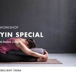 Silent Yin Special with Daphne Luttger