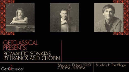 GetClassical presents Romantic Sonatas by Franck and Chopin