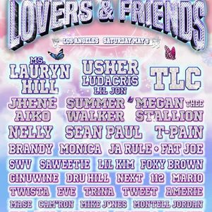 Lovers & Friends Concert - Usher Ludacris Sean Paul Fat Joe
