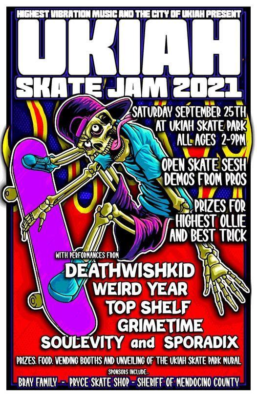 Ukiah Skate Jam 2021, 25 September | Event in Ukiah | AllEvents.in