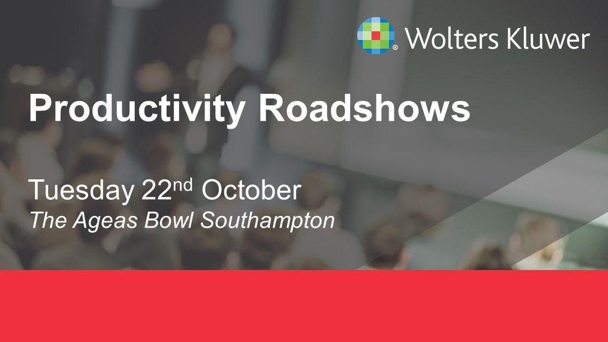 Wolters Kluwer Roadshow - Southampton