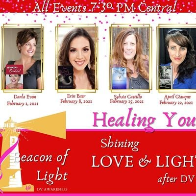 Healing YOU Shining Love and Light After DV