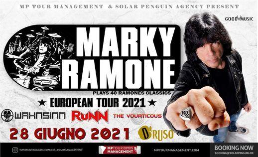 MARKY Ramone live at Druso BG  Wahnsinn Runn The Vourticous
