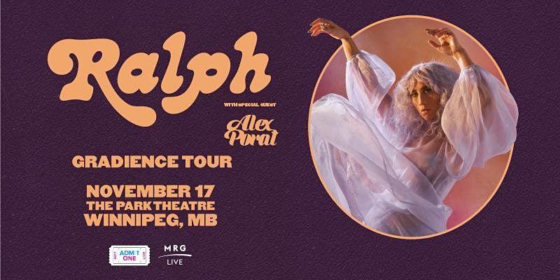 Ralph: Gradience Tour - Winnipeg, 17 November | Event in Winnipeg | AllEvents.in