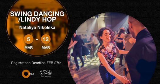 "Swing Dancing/ Lindy Hop ""Open Level"" Workshop With Nataliya Nikolska, 5 March   Event in Helwan"