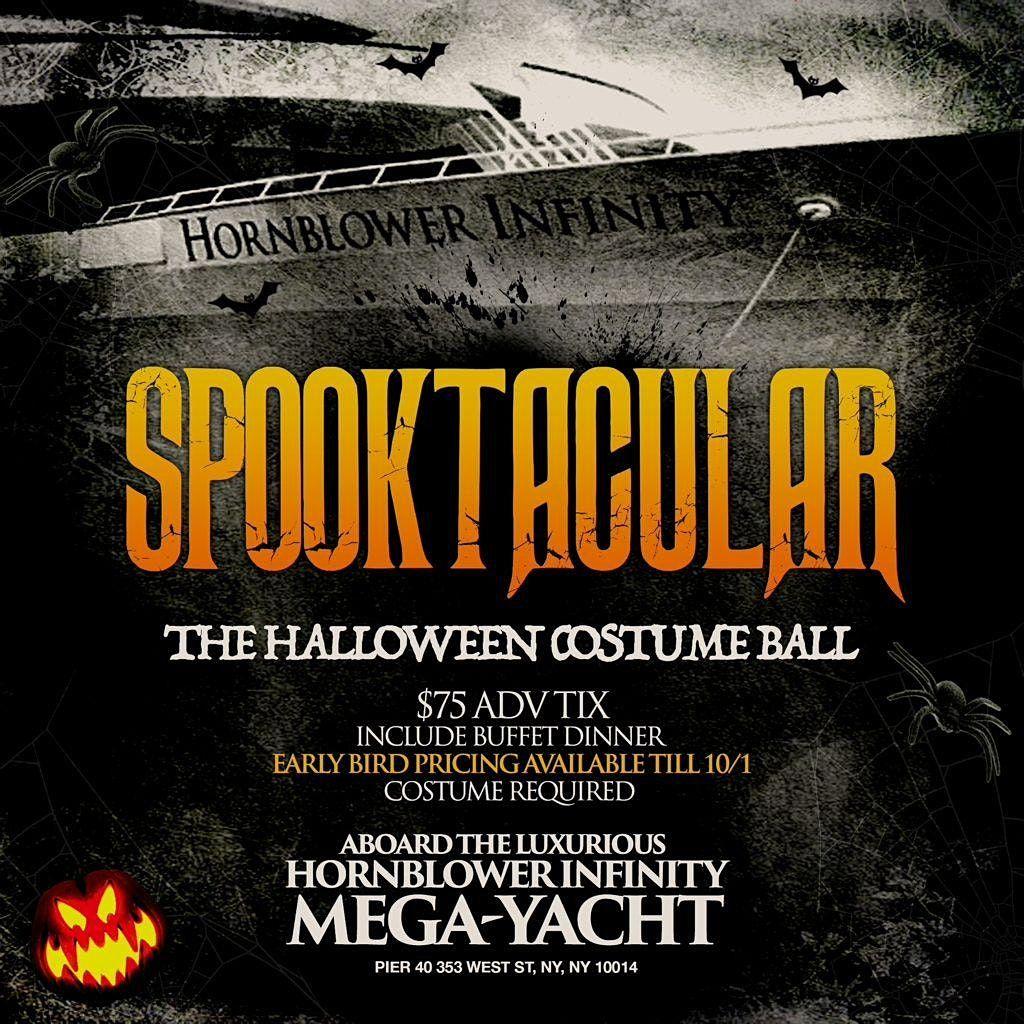 Hornblower Spooktacular Halloween Costume Ball, 30 October   Event in New York   AllEvents.in