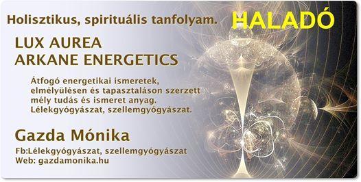 Holisztikus Spiritulis Tanfolyam - Halad