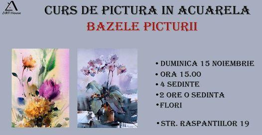 CURS DE PICTURA IN ACUARELA PENTRU INCEPATORI   Event in Câmpina   AllEvents.in