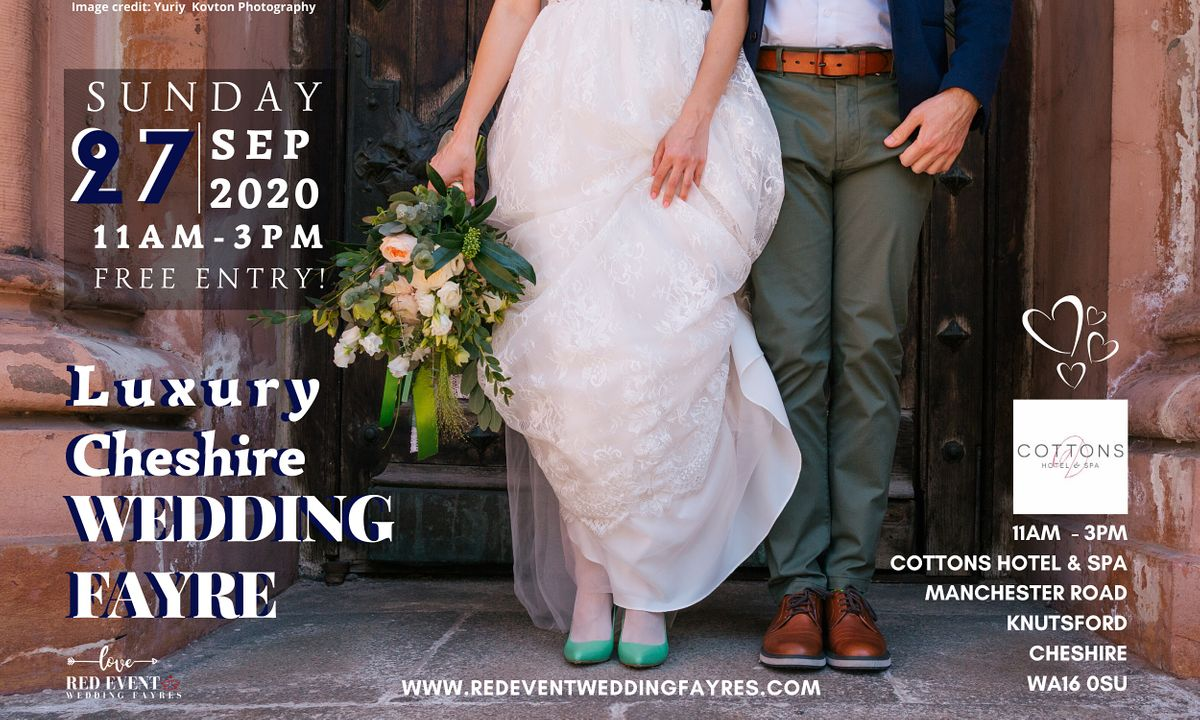 Luxury Cheshire Wedding Fayre at Cottons Hotel & Spa Knutsford