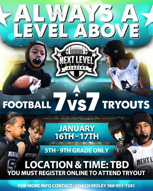 Next Level Academy Off-Season Program   Event in Lacey   AllEvents.in
