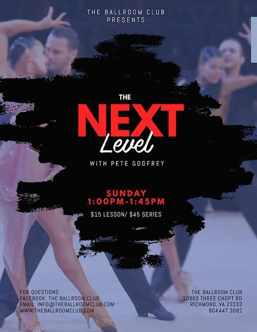 The Next Level Class with Pete Godfrey!, 16 May | Event in Richmond | AllEvents.in