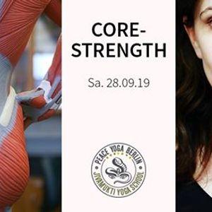 Core Strength Workshop mit Sandra