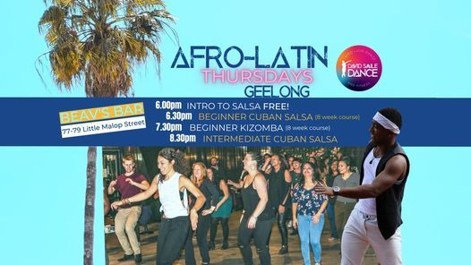 Afro-Latin Thursdays, 13 May   Event in Geelong   AllEvents.in