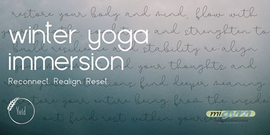 Winter Yoga Immersion