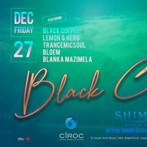 Black Coffee x Shimmy Beach Club