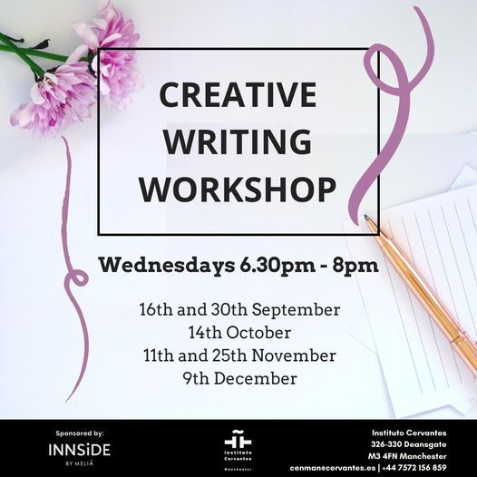 Creative Writing Workshop, 11 November | Event in Manchester | AllEvents.in