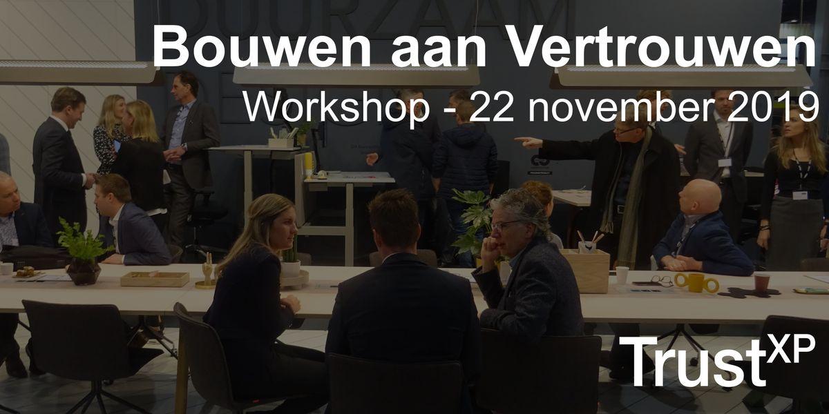 Bouwen aan vertrouwen een 1-dag workshop voor management HR en managers
