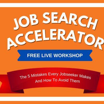 The Job Search Accelerator Workshop  Bangalore