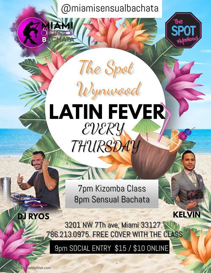 LATIN FEVER IN LA NAVE! KIZOMBA AND SENSUAL BACHATA LESSONS, & SOCIAL PARTY | Event in miami | AllEvents.in