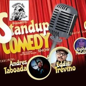 Diggers Presents Stand Up Comedy Headlining Andres Taboada