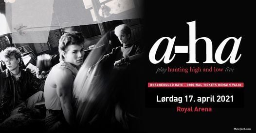 """A-ha """"Hunting High And Low"""" live / Royal Arena, 17 April 