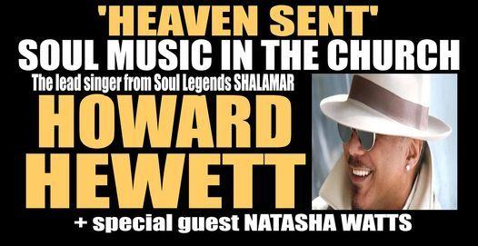 Howard Hewett + Natasha Watts live in concert, 18 May | Event in Peterborough | AllEvents.in
