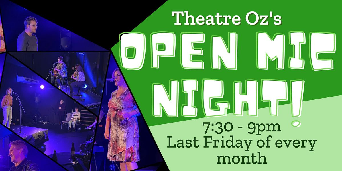 Theatre Oz's Open Mic Night - July, 30 July | Event in Port Macquarie | AllEvents.in
