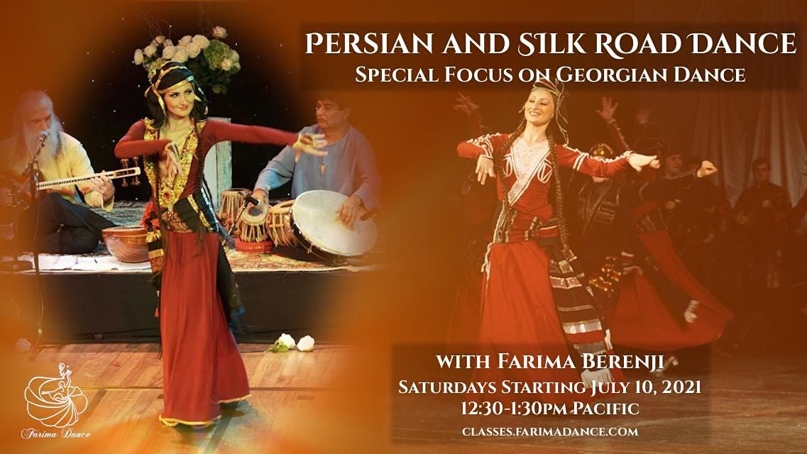 Persian and Silk Road Dance, 31 July | Online Event | AllEvents.in