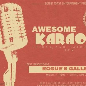 Karaoke Friday  Rogues Gallery
