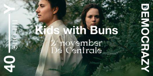 Kids With Buns + Fabian Rasti • 40Y——Democrazy, 2 November   Event in Merelbeke   AllEvents.in