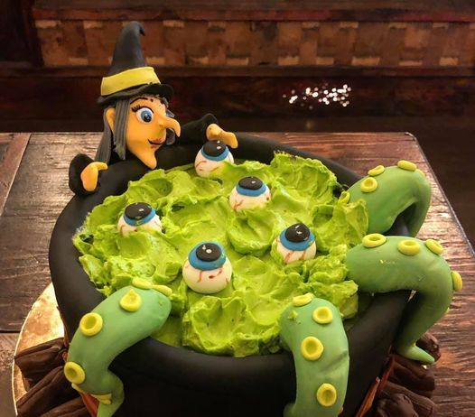 Creepy Cauldron Cake Decorating Class SOLD OUT, 29 October | Event in Saint Albert | AllEvents.in