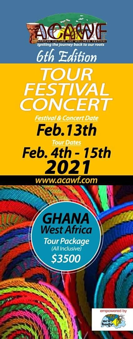AFRICAN CULTURE AND WELLNESS FESTIVAL 6TH EDITION