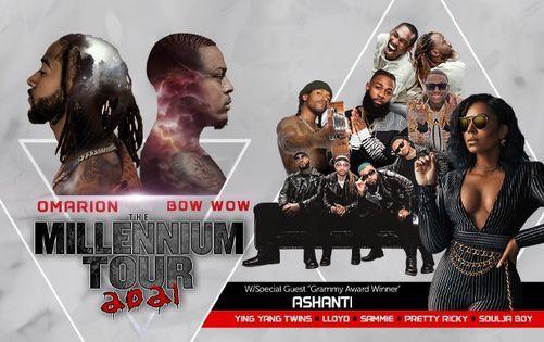 The Millennium Tour 2021, Oct. 22 at Texas Trust CU Theatre in Grand Prairie, 22 October | Event in Grand Prairie