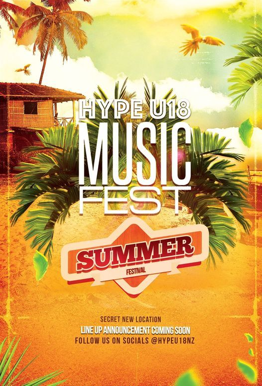 HYPE U18 Music Festival- Hamilton I, 5 December | Event in Hamilton | AllEvents.in