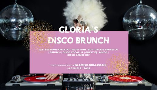 Gloria's Bottomless Disco Brunch, 28 November | Event in London | AllEvents.in