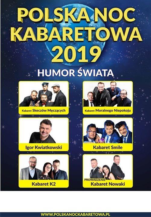 Polska Noc Kabaretowa 2019  Czstochowa  25.10.2019