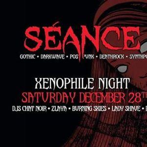 Club Sance Xenophile Night No U.S. or English bands