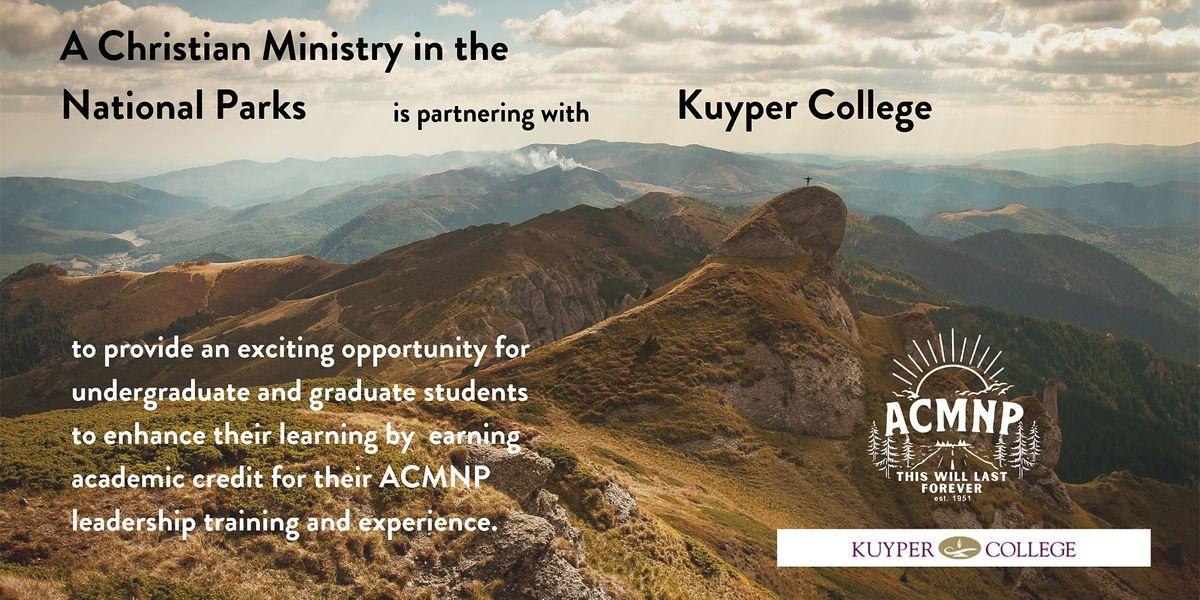 Kuyper College - ACMNP 2020-2021 Partnership | Online Event | AllEvents.in