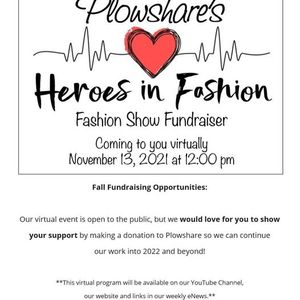 Plowshares Heroes in Fashion Fashion Show Fundraiser