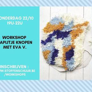 Workshop tapijtje knopen