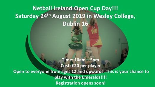 Netball Ireland Open Cup Day