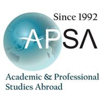 Academic & Professional Studies Abroad -APSA