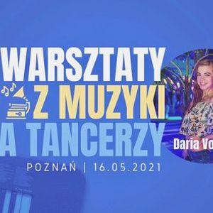 Warsztaty z muzyki dla tancerzy cz. II forma muzyczna  Daria Volicky w RITMO  16.05