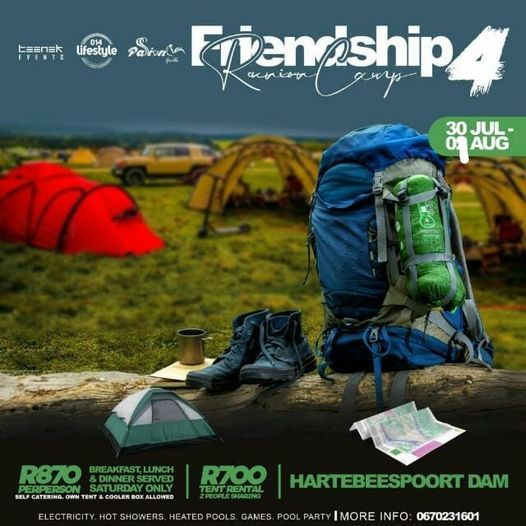 The Friendship Réunion Camp 4th, 30 July   Event in Akasia   AllEvents.in